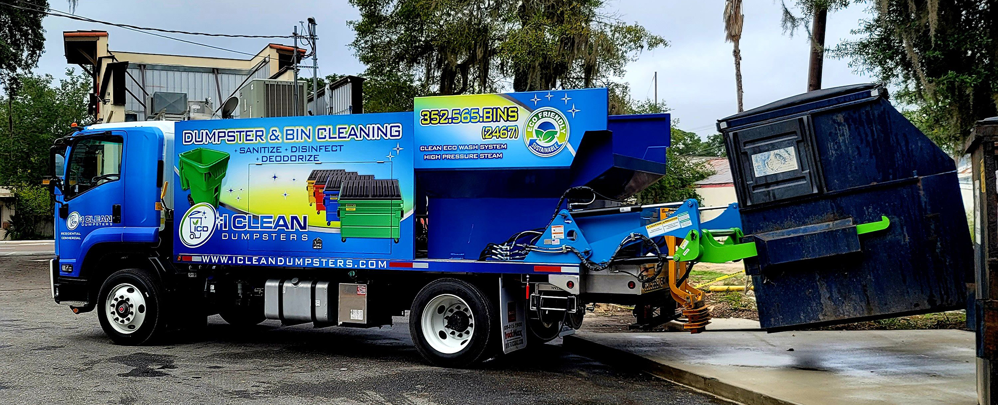 I CLEAN DUMPSTERS BIN CLEANING SERVICES
